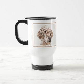 English Setter (Orange Belton) Travel Mug