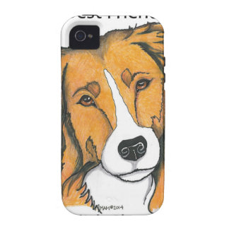 English Shepherd gifts - sable Vibe iPhone 4 Covers