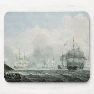 English Ships of War Mouse Pad