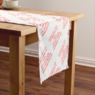 ENGLISH SHORT TABLE RUNNER