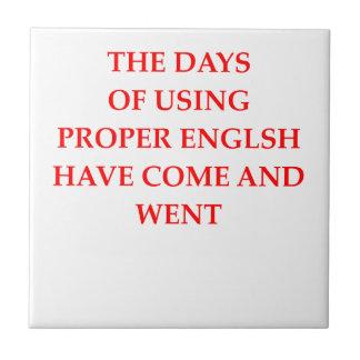 ENGLISH SMALL SQUARE TILE
