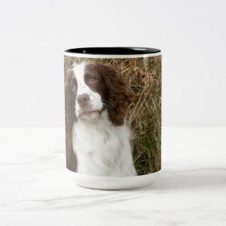 English Springer Spaniel - Best Friend Two-Tone Coffee Mug