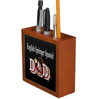 English Springer Spaniel Dad Desk Organiser