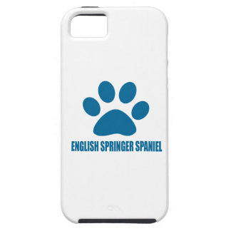 ENGLISH SPRINGER SPANIEL DOG DESIGNS CASE FOR THE iPhone 5