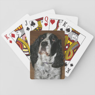 English Springer Spaniel Dog Photo Playing Cards