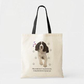 English Springer Spaniel Dog Tote Bag