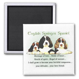 English Springer Spaniel Gifts Magnet