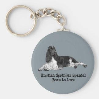 English Springer Spaniel Keychain