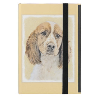English Springer Spaniel Painting Original Dog Art Case For iPad Mini