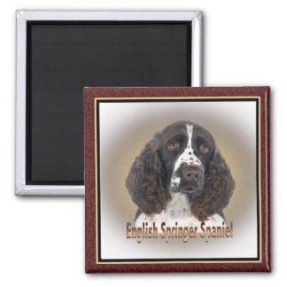 English Springer Spaniel portrait Magnet