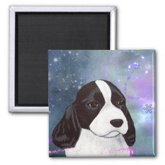 English Springer Spaniel Puppy Magnent Magnet