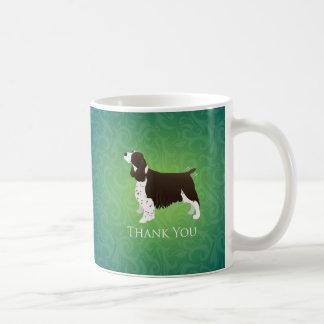 English Springer Spaniel Thank You Coffee Mug