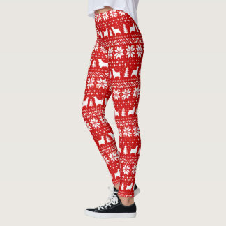 English Springer Spaniels Christmas Pattern Leggings