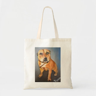 English Staffordshire Bull Terrier Tote Bag