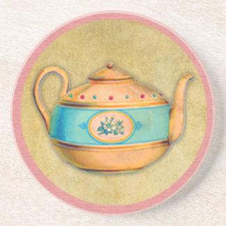 English Tea Kettle Coaster