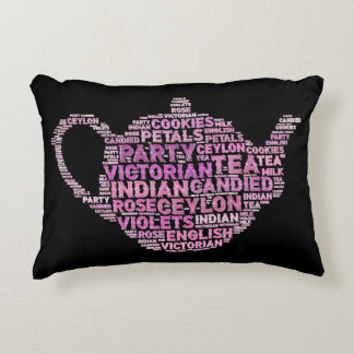 "English tea Polyester Accent Pillow 16"" x 12"""