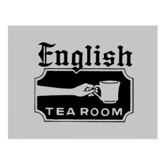 English Tea Room Postcard