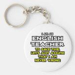 English Teacher...Assume I Am Never Wrong