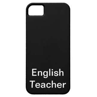English Teacher Barely There iPhone 5 Case