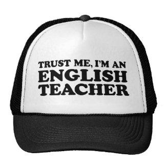 English Teacher Trucker Hats