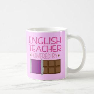 English Teacher chocolate Gift for Her Coffee Mug