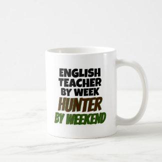 English Teacher Loves Hunting Coffee Mug
