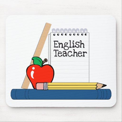 English Teacher (Notebook) Mouse Pad