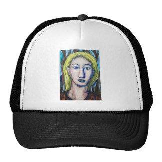 English Teacher (portrait expressionism) Cap