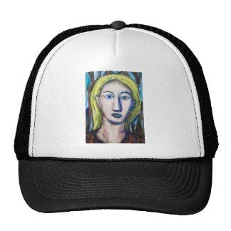 English Teacher (portrait expressionism) Trucker Hats