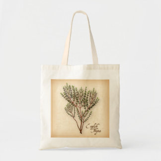 English Thyme Herb Tote Bag