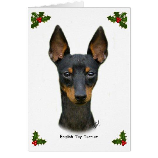 English Toy Terrier 9R095D-013 Card