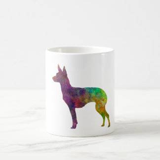 English Toy Terrier in watercolor Coffee Mug