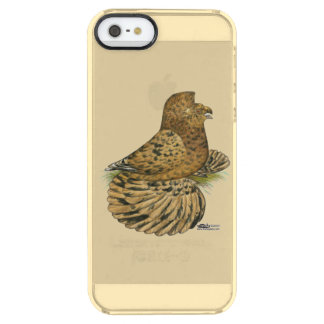 English Trumpeter Almond Clear iPhone SE/5/5s Case