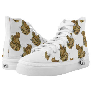 English Trumpeter Almond High Tops