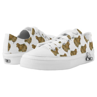 English Trumpeter Almond Low Tops