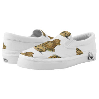 English Trumpeter Almond Slip-On Shoes