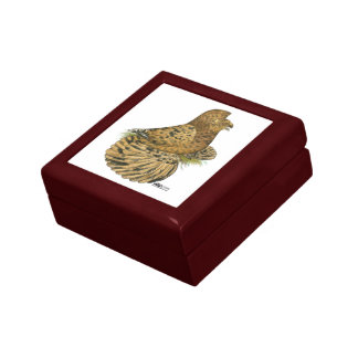 English Trumpeter Almond Small Square Gift Box