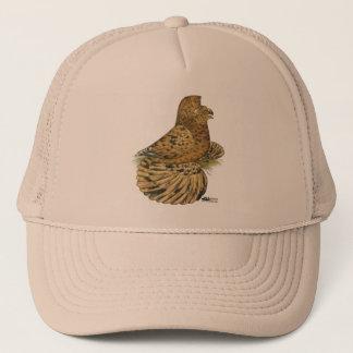 English Trumpeter Almond Trucker Hat