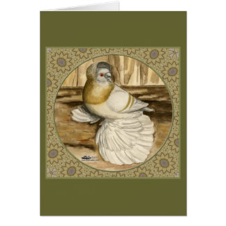 English Trumpeter Gold Frame Card