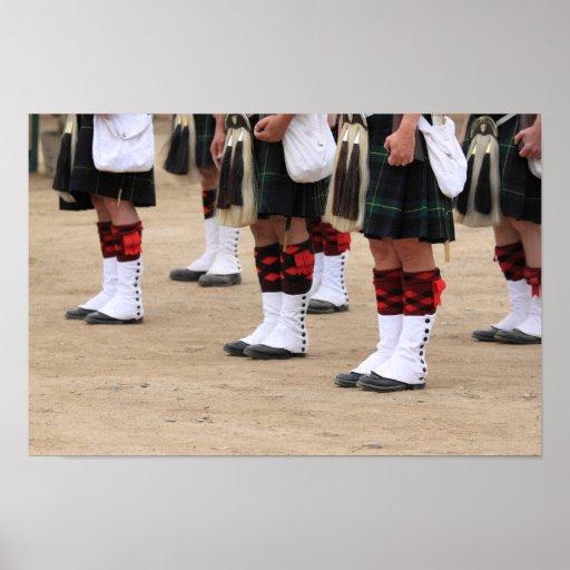 English Uniforms Posters