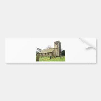 English Village Church Bumper Stickers