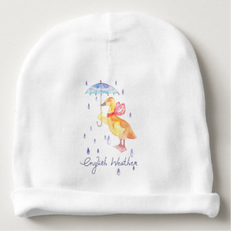 """English Weather"" Baby Cotton Beanie Baby Beanie"