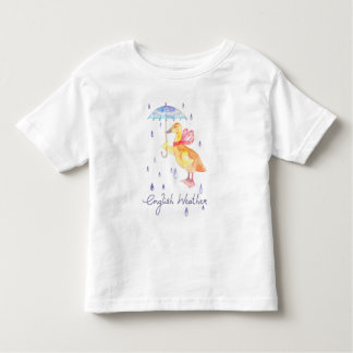 """English Weather"" Baby fine jersey t shirt"