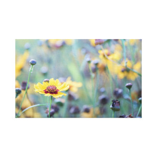 English wild flowers canvas print