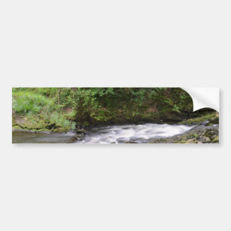 English Woodland Stream Bumper Sticker
