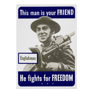 Englishman -- This Man Is Your Friend Poster