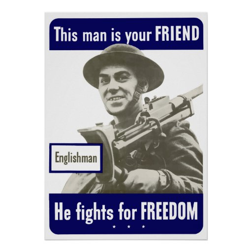 Englishman -- This Man Is Your Friend Posters