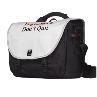 Englishmen Don t Quit Commuter Bag
