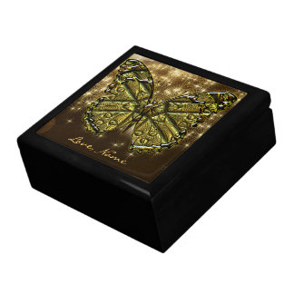 Engraved Butterfly 2 Gift Box