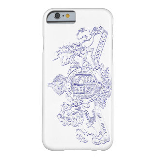 Engraved Dieu et Mon Droit British Coat of Arms Barely There iPhone 6 Case